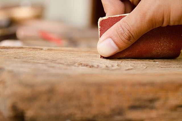 restaurando madera