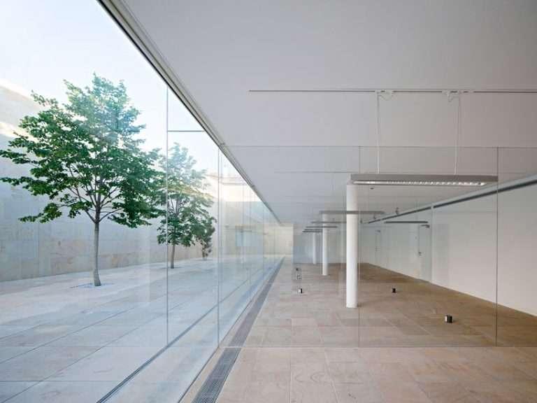 pasillo minimalista