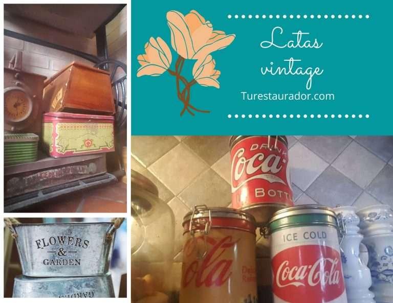 latas vintage